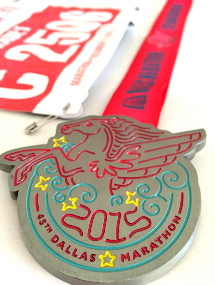 Dallas Marathon Medal